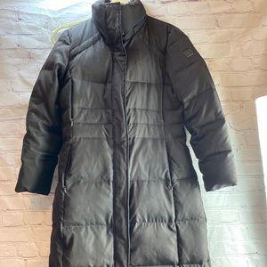 Calvin Klein Long Maxi Black Down Coat